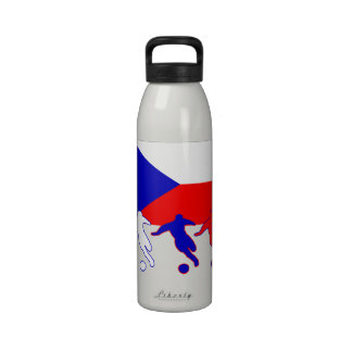 Soccer Czech Republic Drinking Bottle