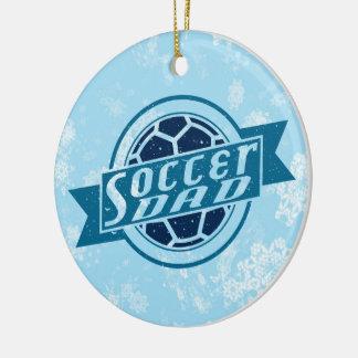 Soccer Dad Christmas Tree Ornament