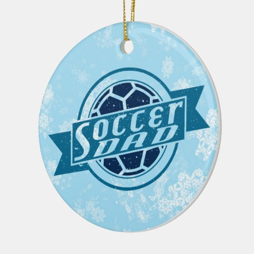 Soccer Dad Christmas Tree Ornament
