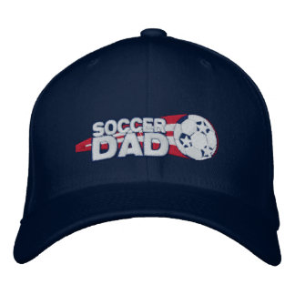 Soccer Dad Embroidered Cap Gift Embroidered Baseball Caps