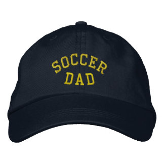 SOCCER DAD Embroidered Hat