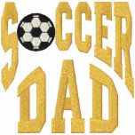 Soccer Dad Embroidered Polo Shirts