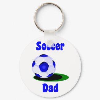 Soccer Dad Keychain keychain