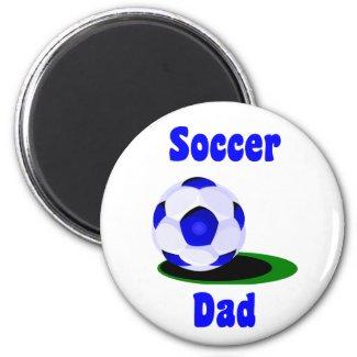Soccer Dad Magnet magnet