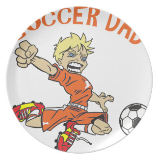 SOCCER DAD PLATE