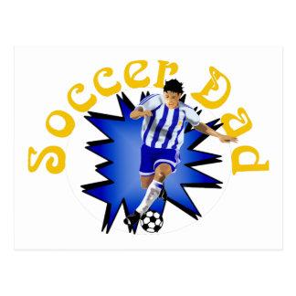 Soccer Dad Postcard