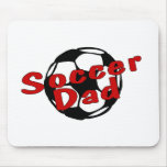 Soccer Dad (Red) Mouse Pad
