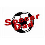 Soccer Dad (Red) Postcard