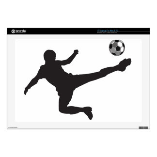 "Soccer Decals For 17"" Laptops"