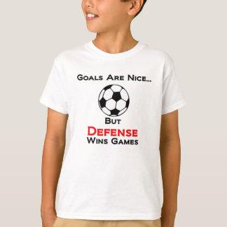 Soccer - Defense Wins Games! T-Shirt