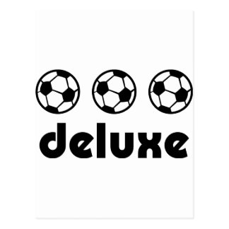 soccer deluxe icon postcard