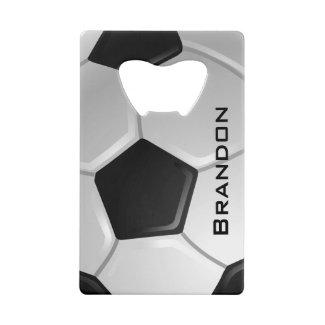 Soccer Design Bottle Opener