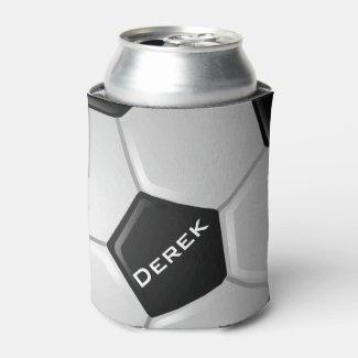 Soccer Design Can Cooler
