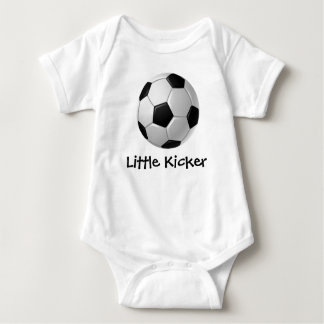 Soccer Design Customizable Baby Clothing Shirt