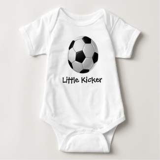 Soccer Design Customizable Baby Clothing