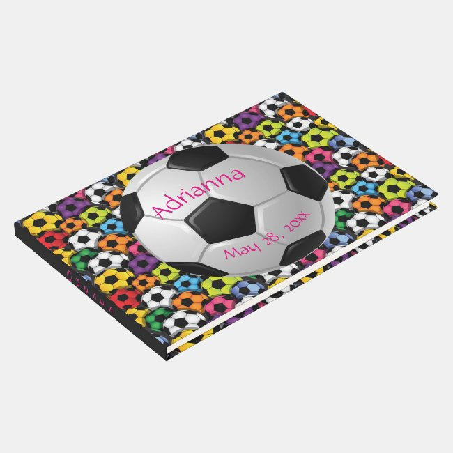 Soccer Design Guest Book