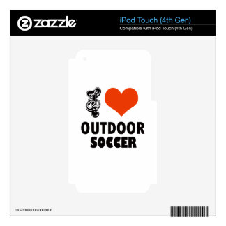 soccer design iPod touch 4G skins