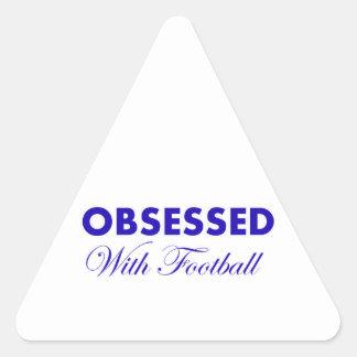 soccer design triangle sticker