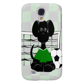 Soccer Dog Galaxy S4 Cover