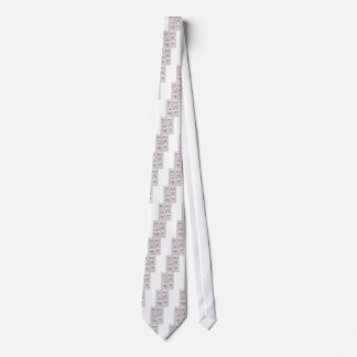 soccer dogs match day reds neck tie