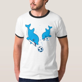 Soccer Dolphins T Shirt