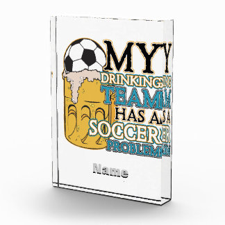 Soccer Drinking Team Award