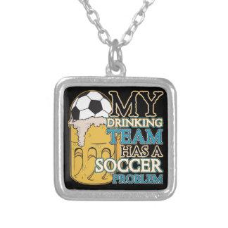 Soccer Drinking Team Pendants