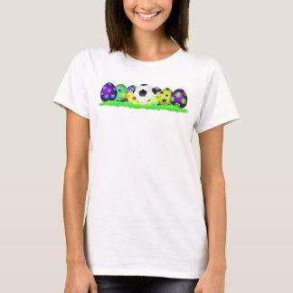 Soccer Easter Egg Row Women's T-shirt