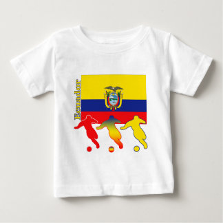 Soccer Ecuador Baby T-Shirt