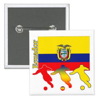 Soccer Ecuador Button