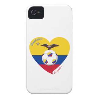 "Soccer ""ECUADOR"". Ecuadorian National Soccer Team iPhone 4 Cover"
