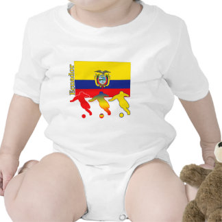 Soccer Ecuador Rompers