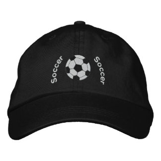 Soccer Embroidered Hat