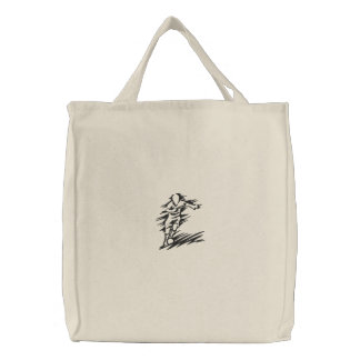 Soccer Embroidered Tote
