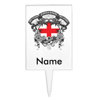 Soccer England Cake Toppers