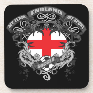 Soccer England Drink Coasters