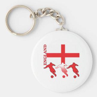 Soccer England Keychain