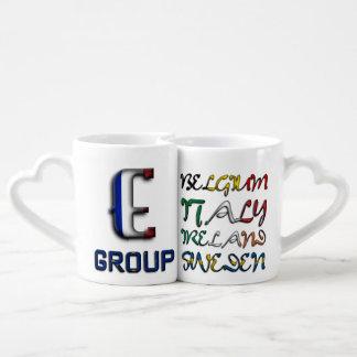 Soccer European Championship Euro 2016 Group E Coffee Mug Set