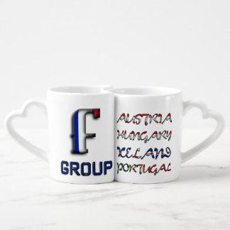 Soccer European Championship Euro 2016 Group F Couples Coffee Mug