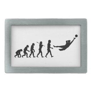 Soccer Evolution Fun Sports Rectangular Belt Buckles