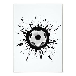 Soccer Explosion Card