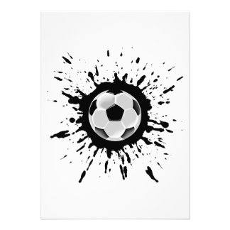 Soccer Explosion Invites
