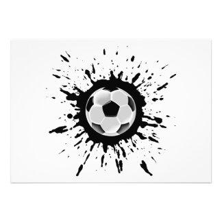 Soccer Explosion Announcements