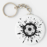 Soccer Explosion Key Chains
