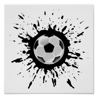 Soccer Explosion Poster