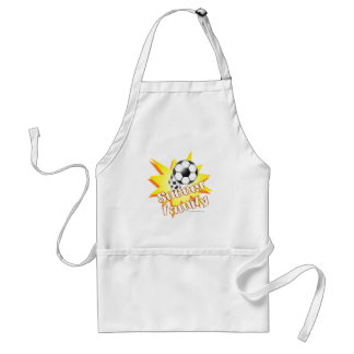 Soccer Family Adult Apron