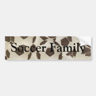 Soccer Family Balls Bumper Sticker