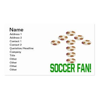 Soccer Fan Business Card