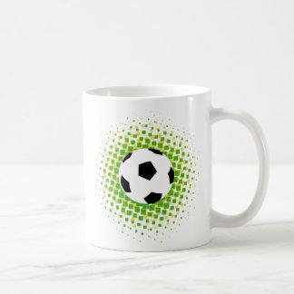 Soccer fan classic white coffee mug
