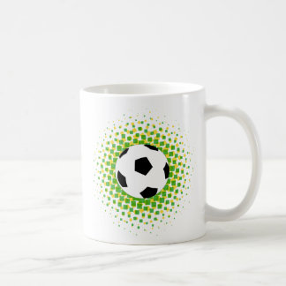 Soccer fan coffee mug